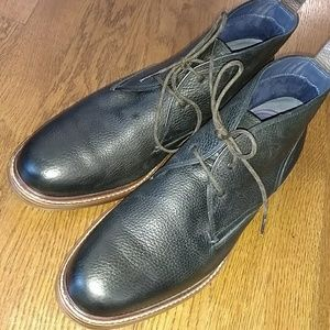 Cole Haan leather chukka boots